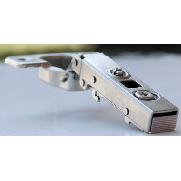 110º ECONOMY SOFT CLOSE FULL OVERLAY SNAP HINGE WITH DOWELS 4.722500