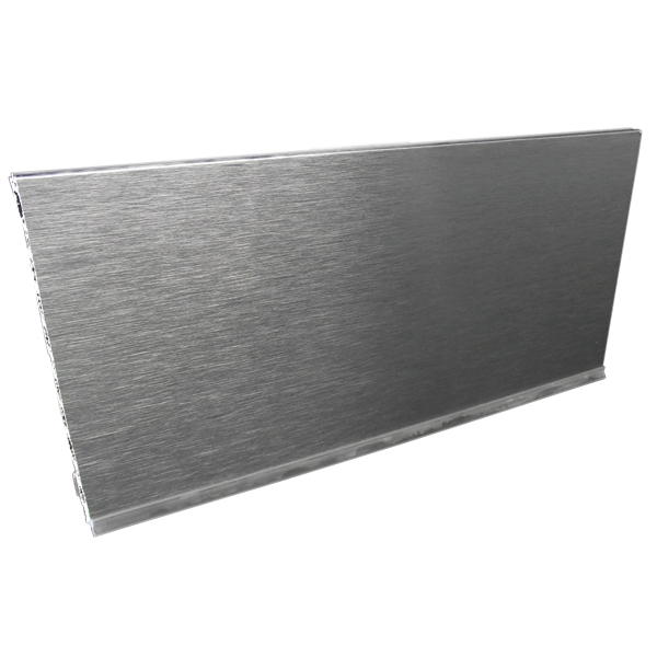 "5' PVC 6"" or 150mm Aluminum Foiled Cabinet Toe Kick  5191-1505"