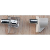 Plastic w/ Metal Pin Shelf Support (1)